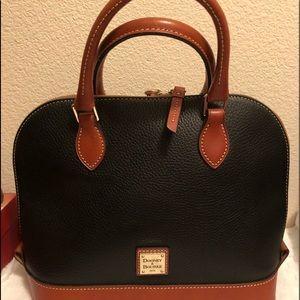 Dooney &Burke satchel zip purse